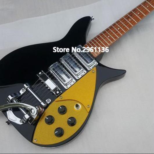 リッケンバッカー風エレキギター 325 スリーピックアップ 34インチ 専用ハードケース付き 残り3点