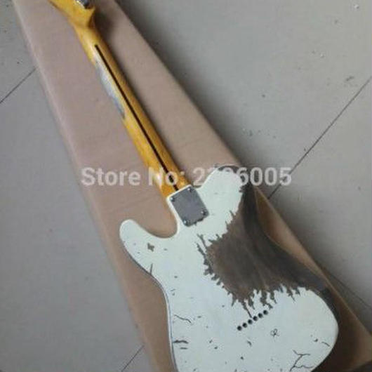 テレキャスター テレキャス 白 ジェフベック レプリカ エクスワイア 1954 ヤードバーズ ギター エレキギター バンド ロック ギタリスト