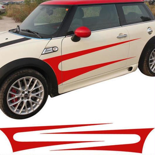【送料無料!】ミニクーパー ステッカー サイド ストライプ ドア スカート F55 F56 R60 R61 R50 R52 R53 R56 R57 R57 R58 R59【新品】
