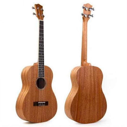 バリトンウクレレ 本体 30インチ ハワイ ギター 4弦 マホガニー 初心者用 特殊