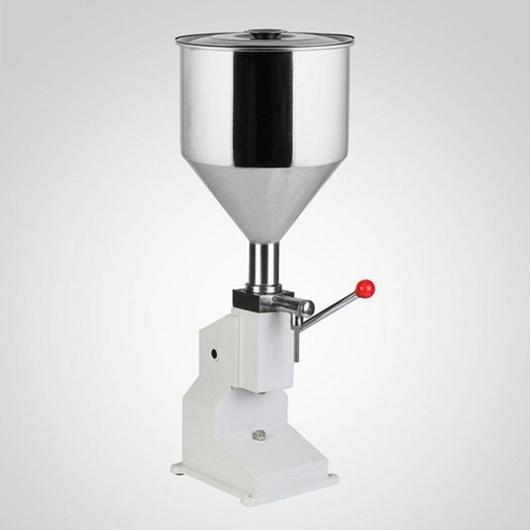卓上型 クリーム 液体充填機 ハンドフィラー 空気圧式 プロ用 業務用 本格的 小分け ジャム オイル 瓶詰 手動