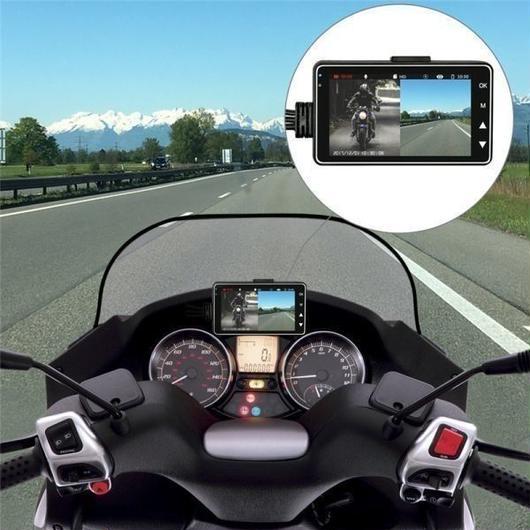 格安ドラレコ!ドライバーの未来を守る!防水仕様 前後カメラ オートバイ ドラレコ ドライブレコーダーバイク