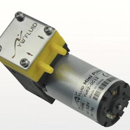 DC12V 小型吸引真空ポンプ ダイアフラム 耐酸 耐アルカリ ケミカルポンプ