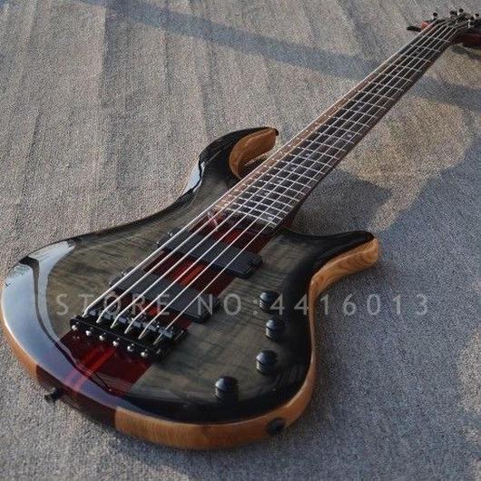 高品質6弦 カスタム ベース 5ピース スルーネック