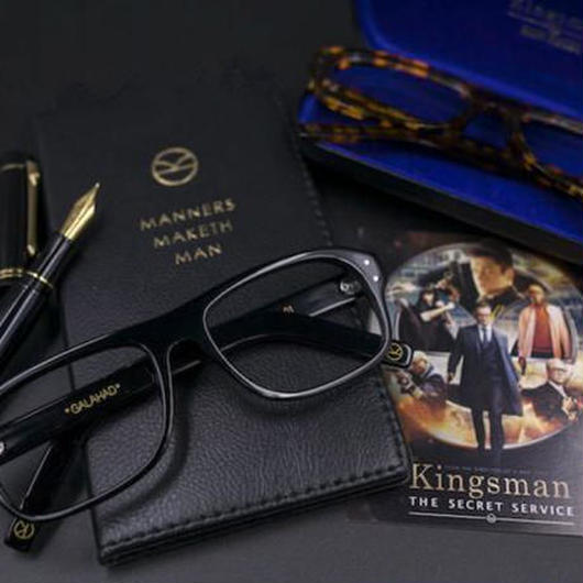 レプリカ キングスマン Kingsman メガネ 眼鏡 タロン・エガートン コリン・ファース