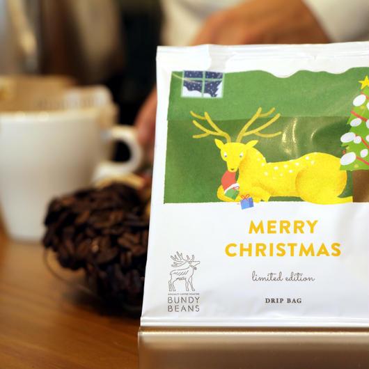 【X'mas限定】MERRY CHRISTMAS DRIP BAG ×5set
