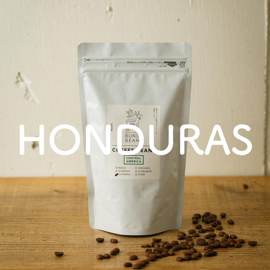 500g【ホンデュラス/HONDURAS】中煎り