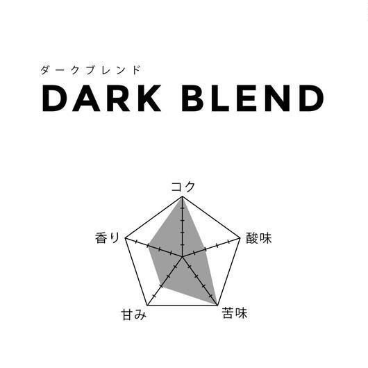 200g【ダークブレンド/DARK】深煎
