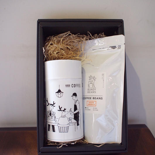 『12月15日まで送料無料!!』GIFT 14【COFFEE CANS × 1 & COFFEE BEANS 200g】