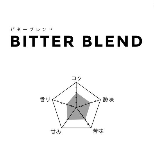 1kg【ビターブレンド/BITTER】中深煎
