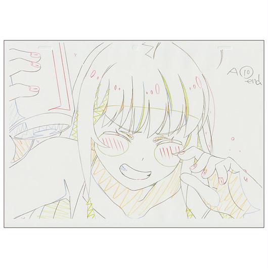 アニメ大森杏子の複製原画(5枚入)&アフレコ台本セット【限定2セット】