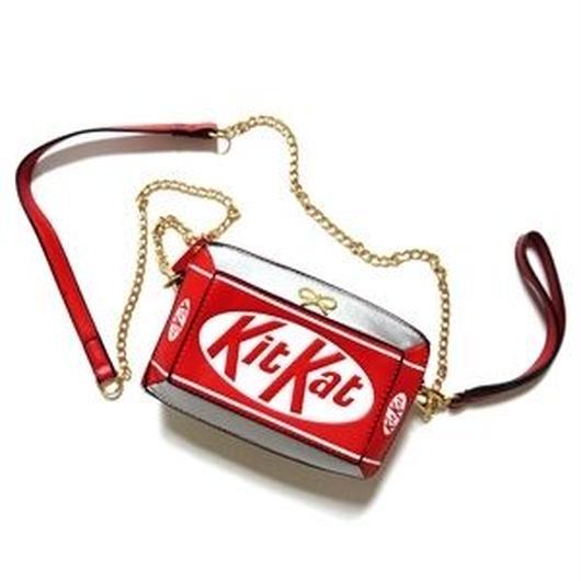 ①お取り寄せ5800円!KitKatショルダーにもなるクラッチバッグ!