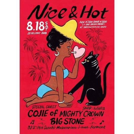 8/18 (SAT) NICE&HOT with COJIE from MIGHTY CROWN