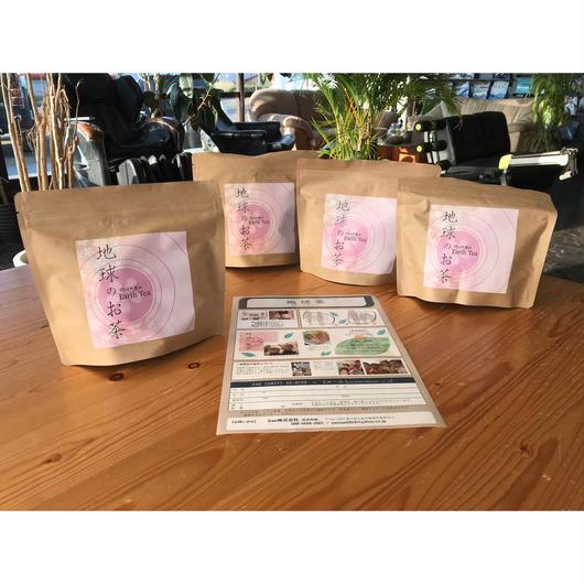 地球茶 < アースティー>  サラシア × ルイボス 30パック/1袋×3 +1