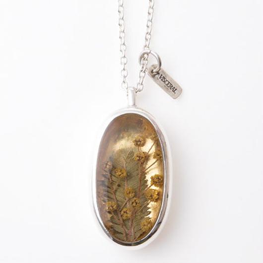 Herbarium Necklace・Mimosa・(18K Gold )