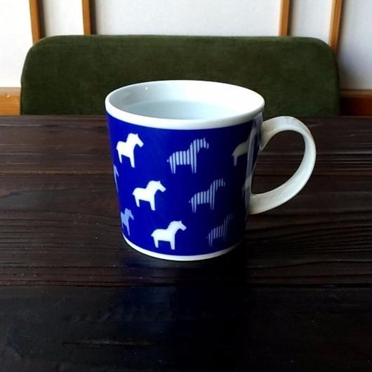 波佐見焼 300ccマグカップ(北欧風アニマル)-ゼブラ- 【Made in Japan 陶磁器マグ】