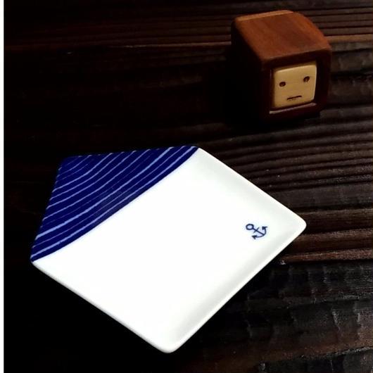 美濃焼 豆皿 -ie- 全6種  150年以上の歴史-銅版絵付-【Made in Japan 陶磁器】