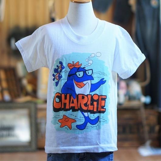 70sヴィンテージチャーリーツナキッズTシャツ