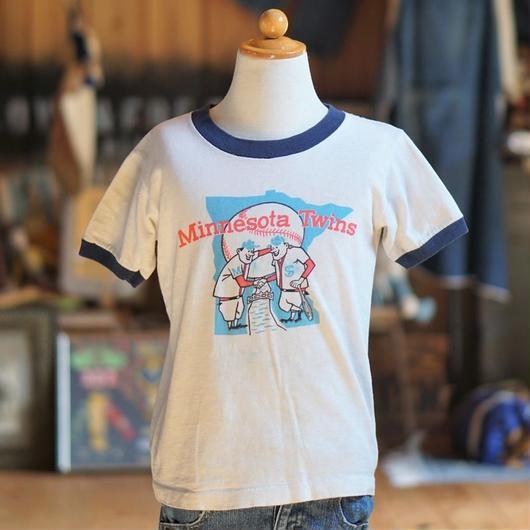 70sヴィンテージリンガーTシャツ(MinnesotaTwins)