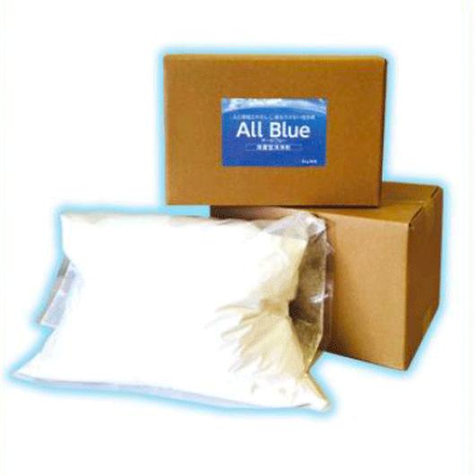 循環型除菌洗浄剤 オールブルー 5kg袋