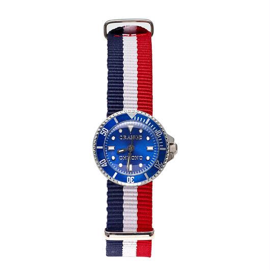 korokawa  Blue/ Tricolore strap