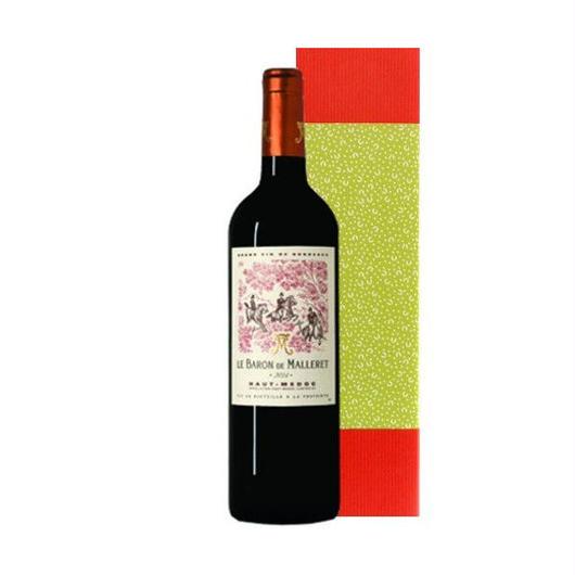 ボルドーグラン・ヴァン、オー・メドックの赤ワイン「 ル・バロン・ド・マレレ 2011年」750ml