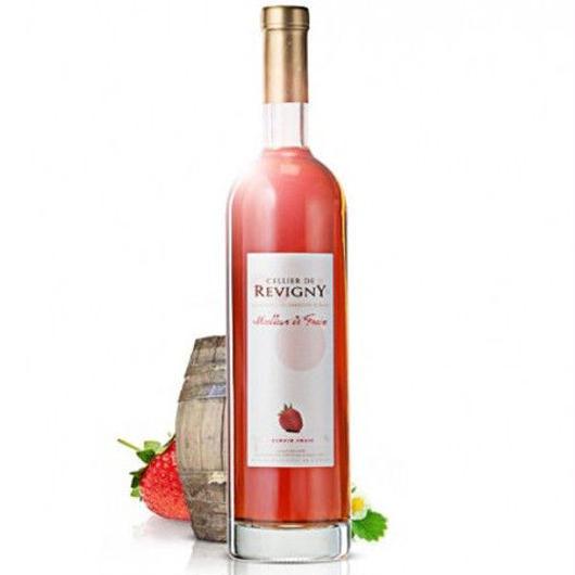 ストロベリーワイン フレンチオーク樽熟成 フランス産のイチゴ100%使用 セリエ・ド・ルヴィニ- 700ml