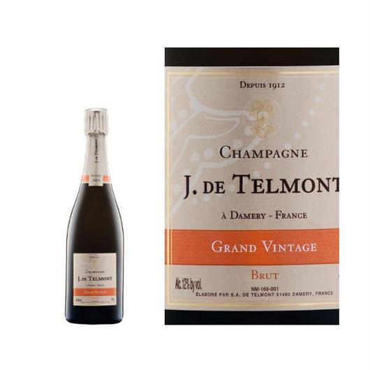 フランス ハーフボトル シャンパン「 ジャック・ド・テルモン  グラン ヴィンテージ ブリュット 2006年」