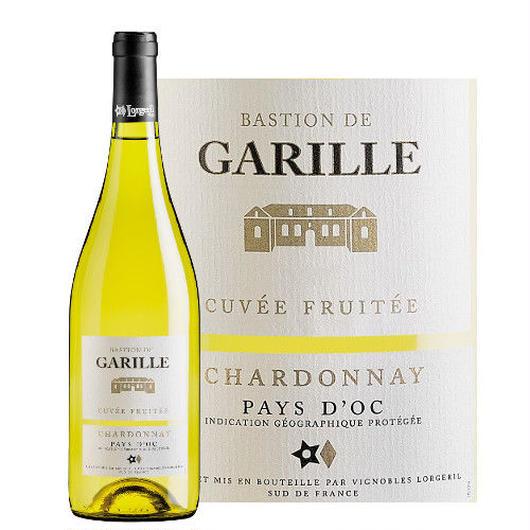 南フランスの白ワイン ラングドック・ルーション ペイ・ドック バスチョン・デ・ガリール 「シャルドネ」 2014年 750ml