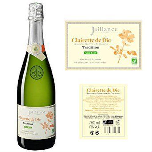フランスのオーガニックスパークリングワイン  コート・デュ・ローヌ  ジャイアンス 「クレレット・ド・ディー・ビオ」750ml