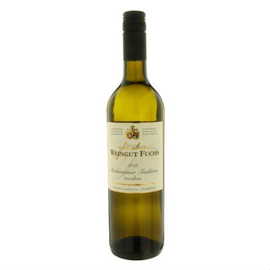 """ドイツの白ワイン フレッシュなアロマ、心地よい酸味 「ロデンシュテイナー トラディション」2013年、750ml、ラインヘッセン""""Rodensteiner Tradition trocken"""""""