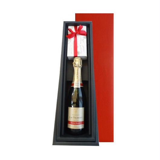 フランス辛口シャンパンとスイーツセット