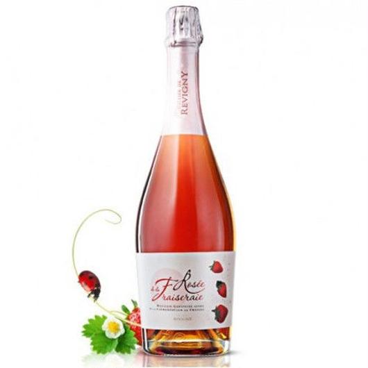 スパークリングストロベリーワイン フランス産のイチゴ100% セリエ・ド・ルヴィニー 750ml