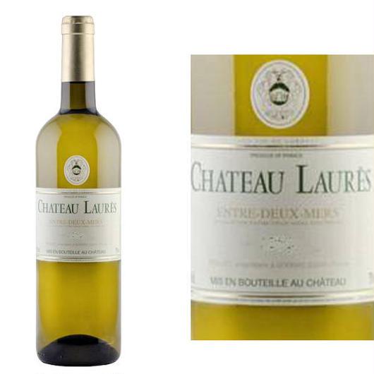 ボルドー白ワイン、A.O.C. アントル・ド・メール 「シャートー・ローレ」2014年 辛口 750ml