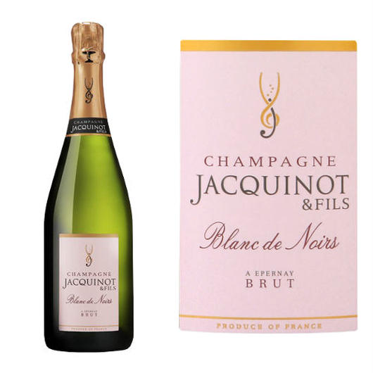 フランス 辛口 シャンパン「ドメーヌ・ジャキノ・エ・フィス「ブラン・ド・ノワール」750ml 【100% ピノ・ノワール】