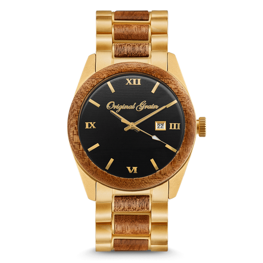 The Classic 2.0 - Mahogany/Gold