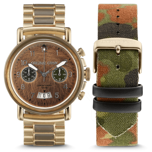 The Alterra Chronograph - The MILITARY Collection/General/Camo