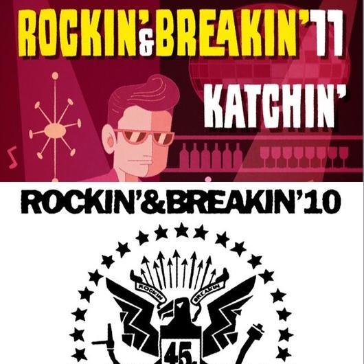 【数量限定&送料無料】Rockin' & Breakin' 10 and 11セット