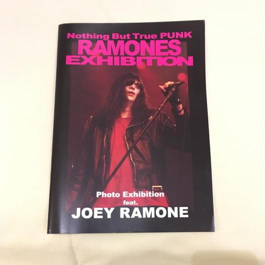 パンフレット写真集 feat. JOEY RAMONE