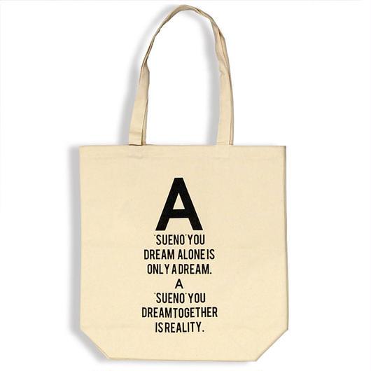 【予約商品】A by PALM STROKE     Logo Tote Bag