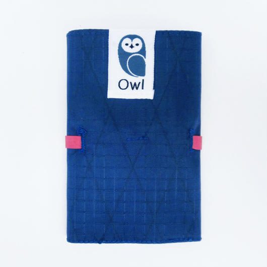 【左利き用】OWL X-Pac Wallet 10.4g (Deep Blue / Pink)