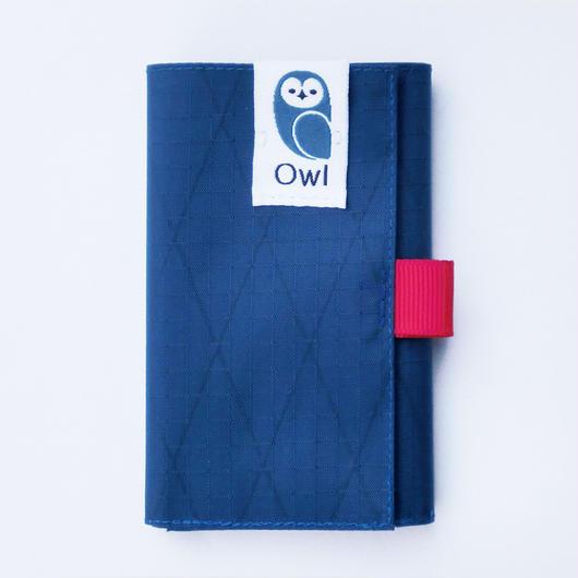 OWL X-Pac Kohaze Wallet (Deep Blue) 10.7g