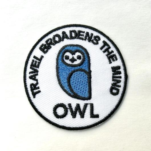 OWL Patch/OWLオリジナル刺繍ワッペン