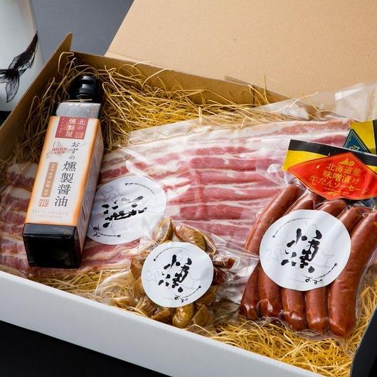 北の燻製屋ギフト 日本酒ラバーズ 全4品