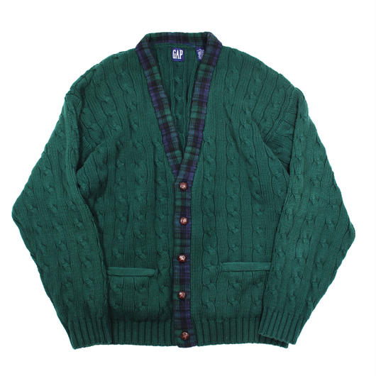 1990s GAP cotton knit cardigan