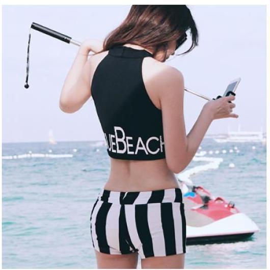 Marine Stripes Swim wear