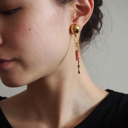 reaf earrings,pierces