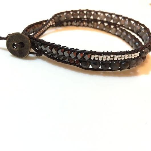 【OLDERMADE】wrap bracelet