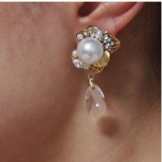 【BRIDAL】 earring