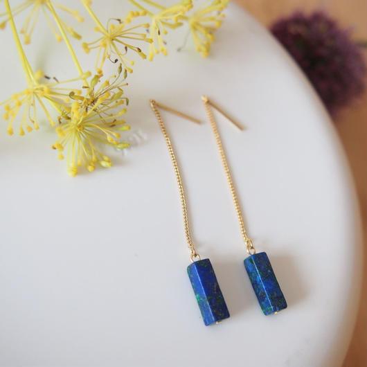 adriatic sea pierces/earrings